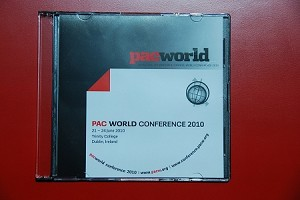 2010 PAC World Conference CD
