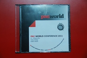 2011 PAC World Conference CD