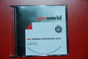 2012 PAC World Conference CD
